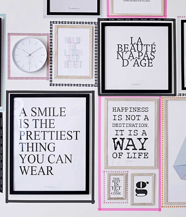 decora tus paredes con de cuadros o marcos