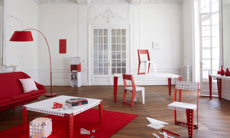 En decoraci n apuesta al rojo foto - Decoracion blanco negro rojo ...
