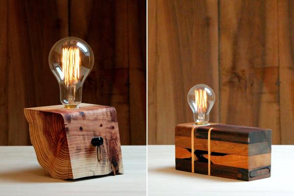 Tres propuestas de dise o original para ver y comprar - Lamparas colgantes de madera ...