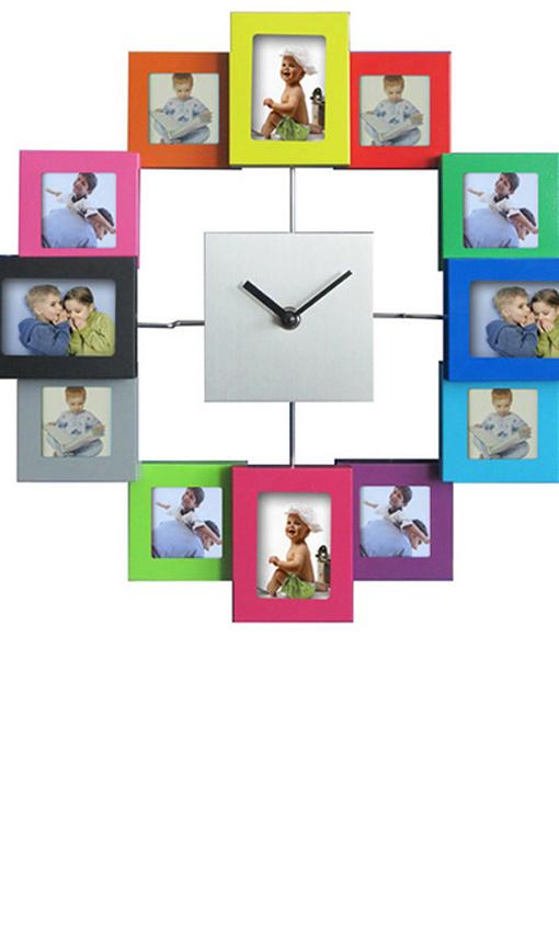 Relojes que marcan las horas y el estilo foto 1 - Reloj pegado pared ...