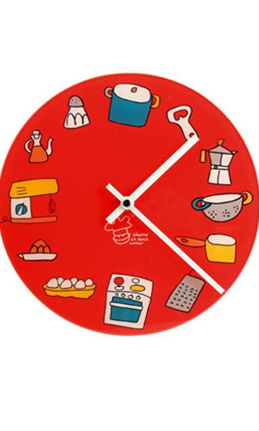 Relojes que marcan las horas y el estilo foto - Reloj pegado pared ...