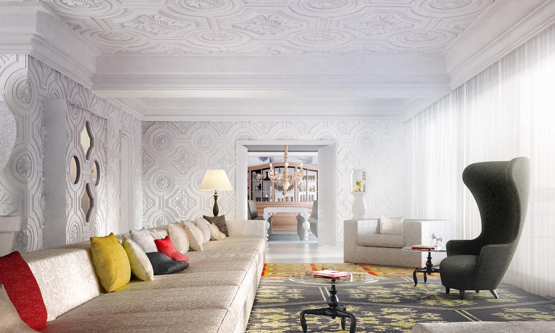 Lujo y glamour made by marcel wanders en taipei foto for Programa para decoracion de interiores