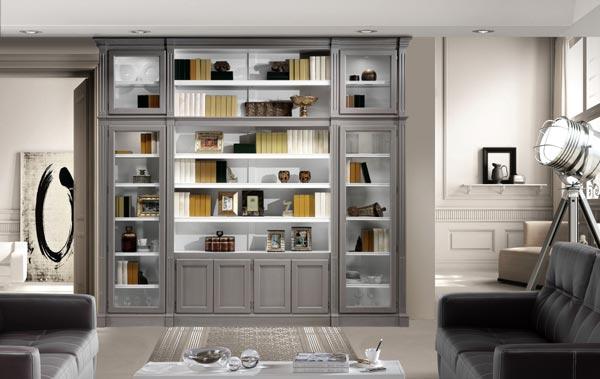 Claves para acertar con la librer a perfecta - Libreria para salon ...
