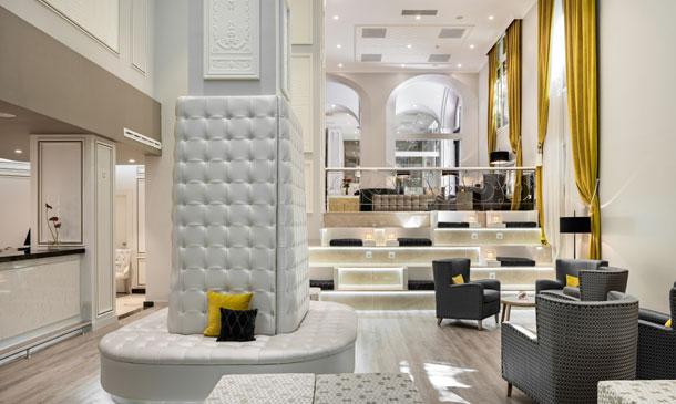 Hoteles en los que relajarse y disfrutar de decoraci n y for Decoracion de interiores hoteles