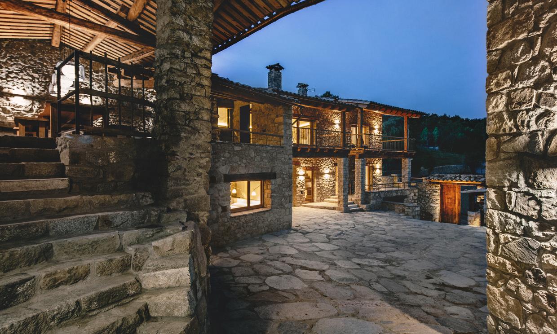 Fusi n de estilos dise o rural y contempor neo en una casa ubicada en la comarca de la cerdanya - Casa rural daniel ...