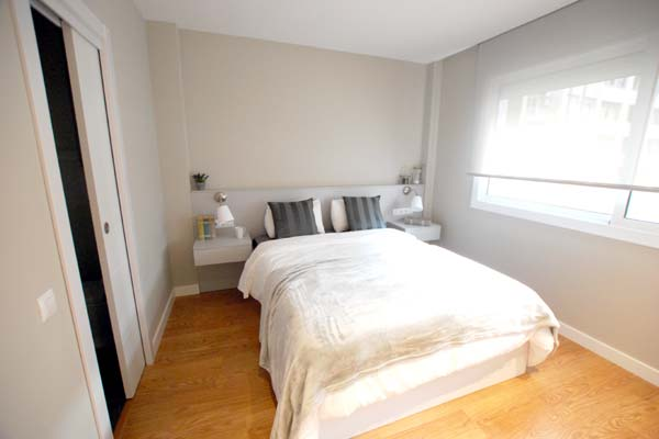 Ideas para que cada espacio de tu casa parezca m s amplio for Dormitorio principal