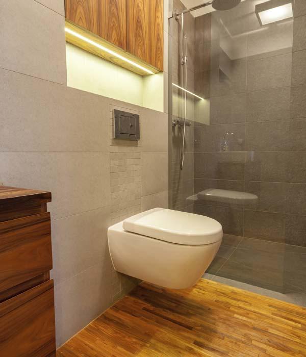 Ideas para que cada espacio de tu casa parezca m s amplio for Visillos para banos