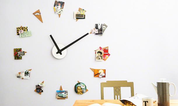 Un reloj que marca las horas y tus mejores recuerdos