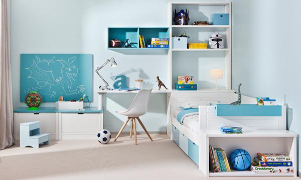 Organizaci n e imaginaci n en el cuarto de los ni os - Decoracion dormitorio infantil nino ...