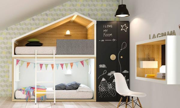 Organización e imaginación en el cuarto de los niños
