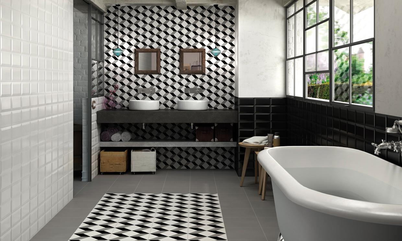 Baño Para Torta Sencillo:Ideas para dar un toque 'vintage' a tu cuarto de baño – Foto 5