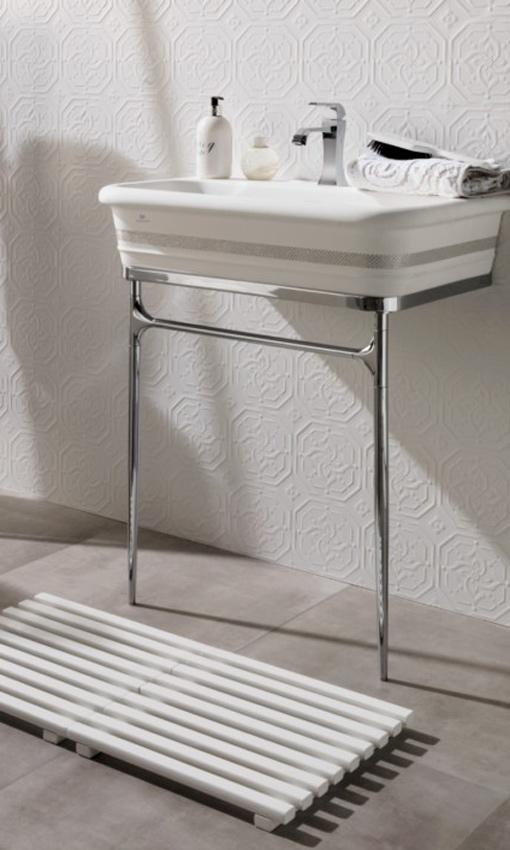 Ideas Baños Rectangulares:Apuesta por los lavamanos de pedestal o bien rectangulares, amplios y