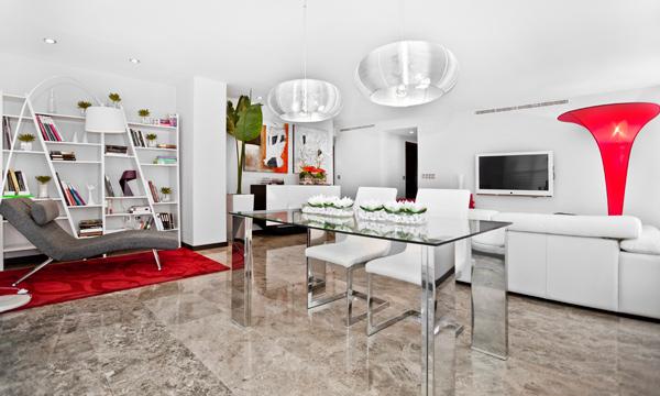 Un apartamento de soltero frente a la ciudad de las artes for Decoracion piso soltero