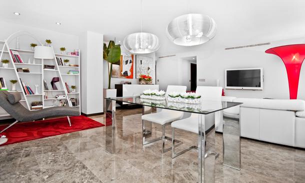 Un apartamento de soltero frente a la ciudad de las artes for Decoracion apartamentos modernos 2016