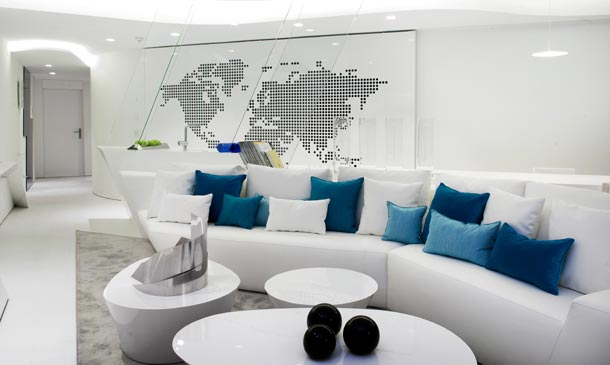 Joaquín Torres apuesta todo al blanco en uno de sus últimos proyectos de decoración de interiores