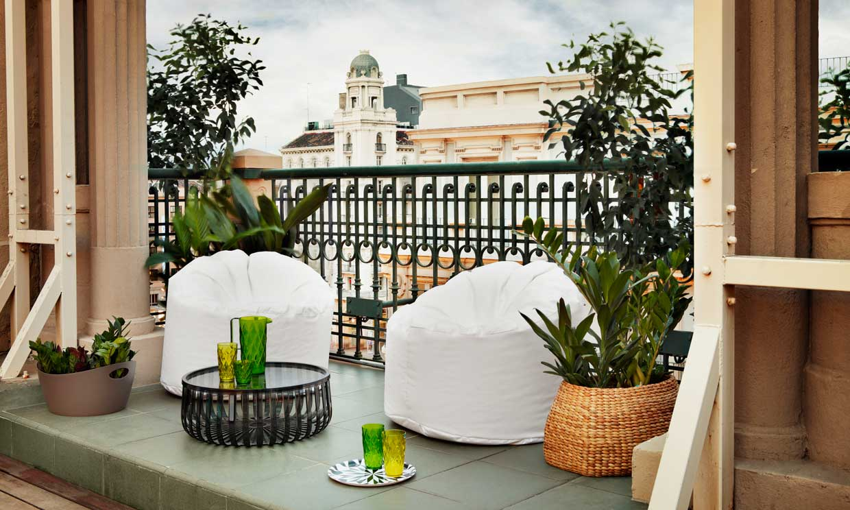 C mo decorar tu terraza o balc n para sacarle m s partido - Ikea muebles jardin exteriores lyon ...