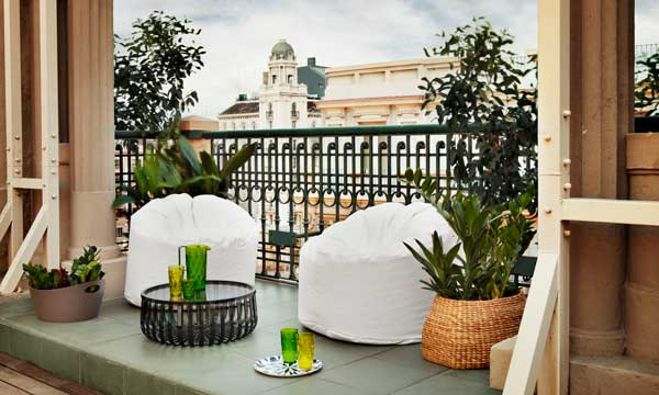 C mo decorar tu terraza o balc n para sacarle m s partido for Mobiliario para balcones