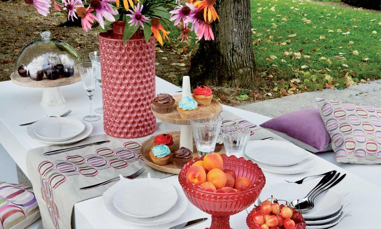 Todo para montar una mesa perfecta al aire libre foto for Mesa exterior