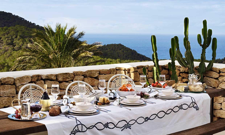 Todo para montar una mesa perfecta al aire libre foto for Zara home manteles mesa