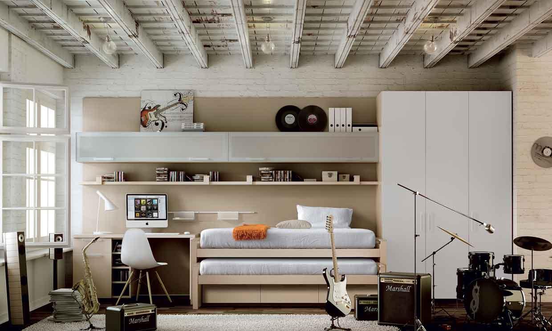 Equipar y decorar una habitación juvenil
