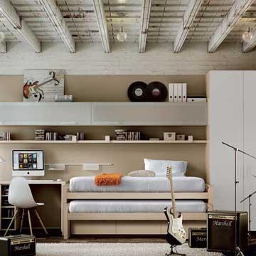 C mo dise ar una habitaci n juvenil a la medida de sus gustos y los tuyos foto - Disenar dormitorio juvenil ...