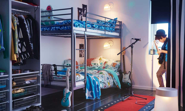 C mo dise ar una habitaci n juvenil a la medida de sus - Decoracion habitaciones tumblr ...