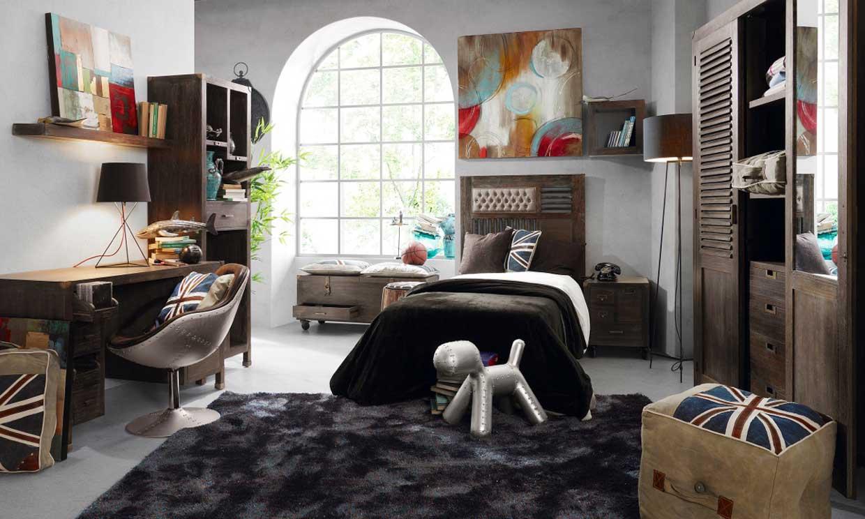 Equipar y decorar una habitaci n juvenil foto for Decoraciones para cuartos de hombres
