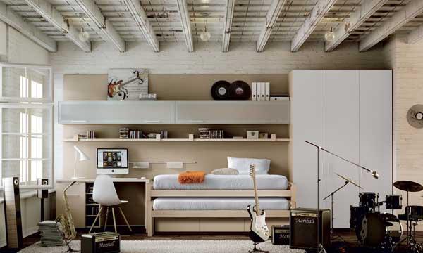 Equipar y decorar una habitaci n juvenil for Distribucion habitacion juvenil