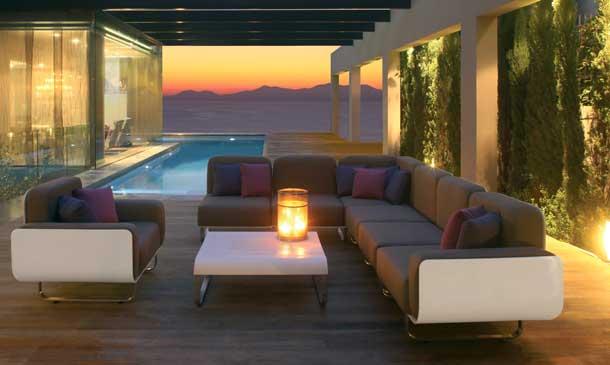 C mo iluminar el exterior - Iluminacion terrazas exteriores ...