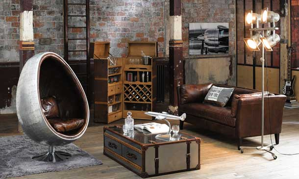 Recrear el estilo industrial - Decoracion vintage industrial ...