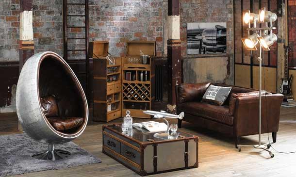 Look industrial: una casa con espíritu de loft