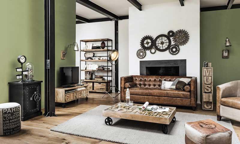 Look industrial una casa con esp ritu de loft foto 1 for Muebles estilo industrial madrid