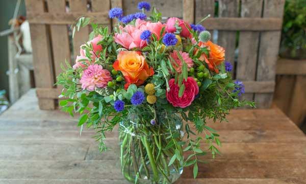 Arreglos florales para casa arreglos florales naturales - Adornos florales para casa ...