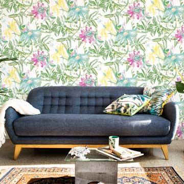 Papeles pintados el traje de moda para tus paredes foto - Maison decor papeles pintados ...