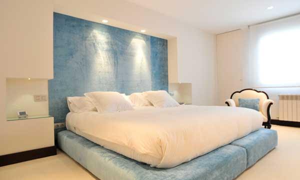 Iluminar el dormitorio - Cabeceros con luz ...