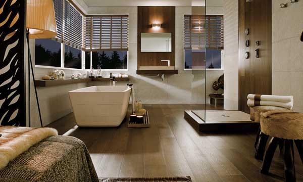 Suelo madera interior cool madera natural calidez y - Suelos ceramicos interior ...
