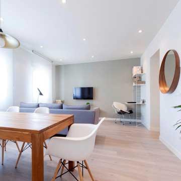 Ideas para sacar partido a un apartamento de pocos metros