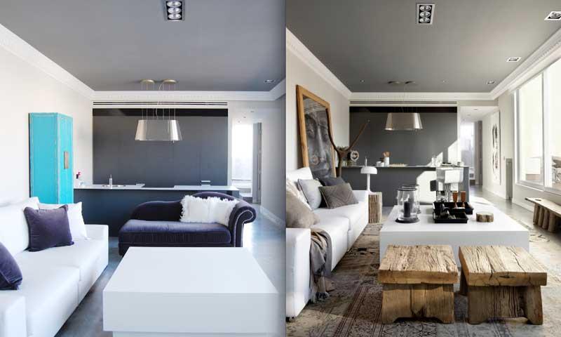 Antes y despu s 3 ejemplos de estancias - Casas reformadas antes y despues ...