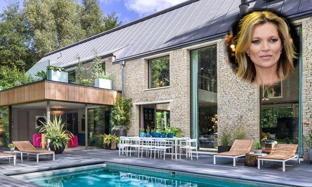 Kate Moss debuta como decoradora de interiores