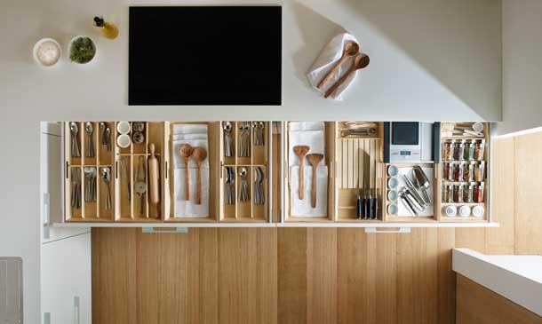 Cómo lograr una cocina práctica y organizada