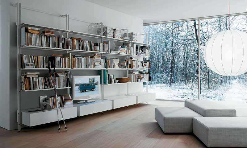 Librer as de dise o tus libros se merecen un lugar - Librerias de diseno ...