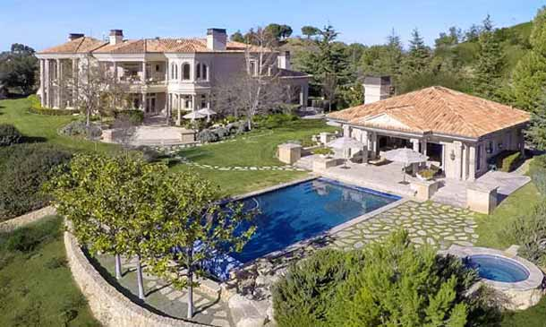 Así es la espectacular mansión que Britney Spears ha comprado cerca de Los Ángeles