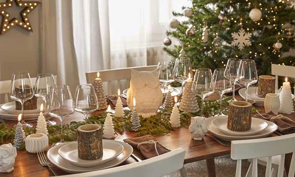 Montar la mesa de navidad - La mesa en navidad ...