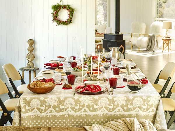 Montar la mesa de navidad - Como poner la mesa en navidad ...