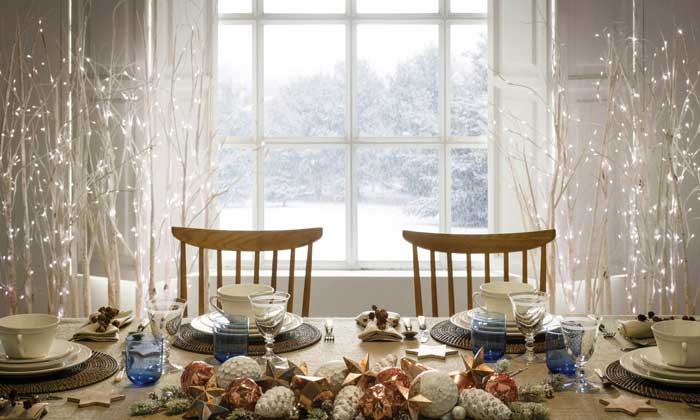 Montar la mesa: 'dress code' navideño