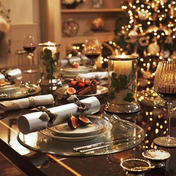 Montar la mesa de navidad for Como montar una mesa