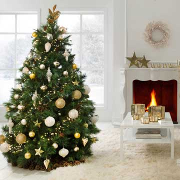 Ideas para montar un rbol de navidad lleno de magia y - Decoracion exteriores navidad ...