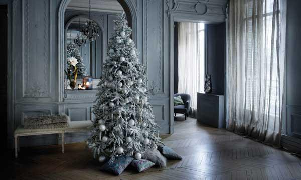 Claves para montar el rbol de navidad - Como decorar mi arbol de navidad blanco ...