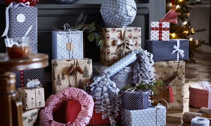 especial navidad ideas para envolver y colocar los regalos