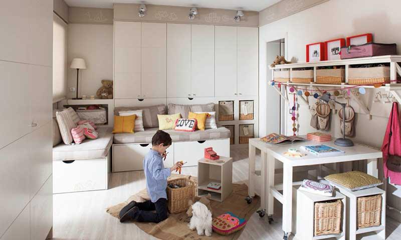 Ideas para ordenar una habitaci n infantil y encontrar - Organizar habitacion ninos ...